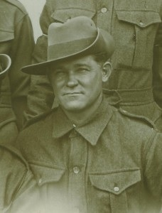 Pte Frank Johnston - Johnston family