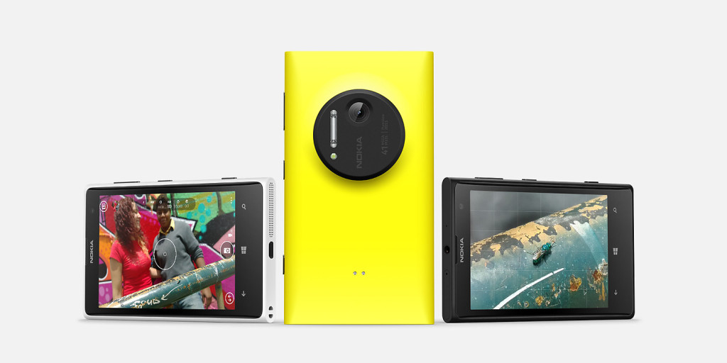The Lumia 1020 with 41 megapixel camera sensor. Photo: Microsoft website