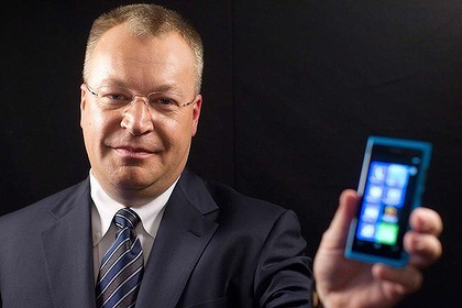 Stephen Elop, chief executive officer of Nokia, hopes Windows Phone can save the ailing handset maker. Photo: Bloomberg