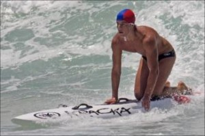 19-year-old ironman Saxon Bird was drowned at Aussies at Kurrawa Beach in 2010, after being struck by a stray surf-ski in heavy surf.